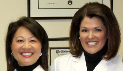 Dentists Dr Foley and Dr Biondo